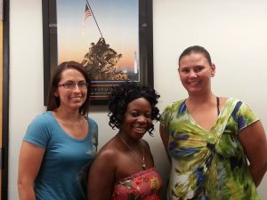 Please help us welcome our 3 newest members to our club! WELCOME ladies to the NWCA Family. — with Letisha Nutt, Aumonae Johnson-Lloyd and Kimberly Kraftchak.