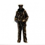 Lone Sailor (Gold) Pin