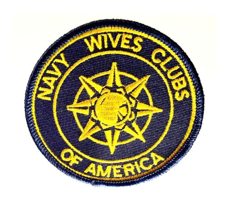 Patch Cloth Navy Wives Clubs Of America