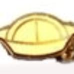 White Hat Pin