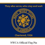 NWCA Official Flag Pin