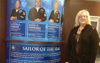 Sheryl Bice, NWCA National President represents NWCA