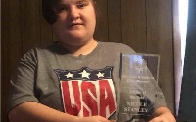 NWCA Jax 86 Installs New Member, Nicole Stanley, August 2019.