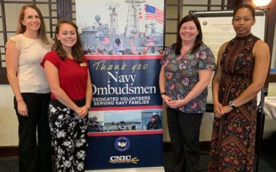 NWCA Memphis #119 supports Naval Support Activity (NSA) Mid-South Ombudsman Appreciation Luncheon, September 18, 2019.