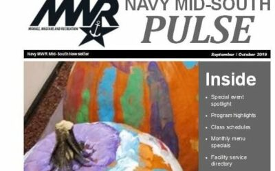 Naval Support Activity Mid-South, Millington, Tennessee announces highlights of Special MWR Activities for September and October 2019.