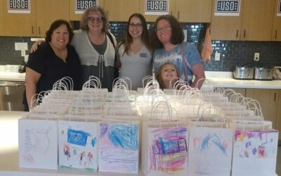 NWCA Members Deliver Goody Bags to the USO Wounded Warrior and Family Center at Ft. Belvoir, Virginia.