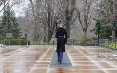 Tomb of the Unknown Soldier sentinels continue their duty through conronavirus pandemic.