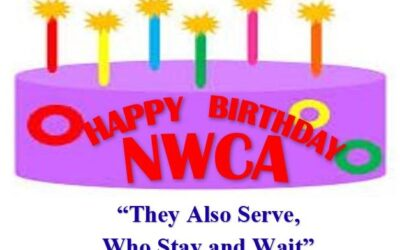 June 3, 2020:  Happy Birthday to NWCA on our 84th year.