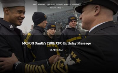 01April2021, United States Navy, Chief Petty Officer's 128th Birthday.