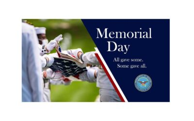 May 31, 2021:  Today, on Memorial Day, we Honor our Brave United States Service Members who gave us their All.
